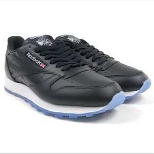 Reebok Shoes - Reebok Classic Leather Ice Black Low Shoes V48520